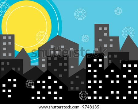 city-illustration,vector