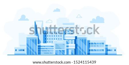 city landscape cityscape with