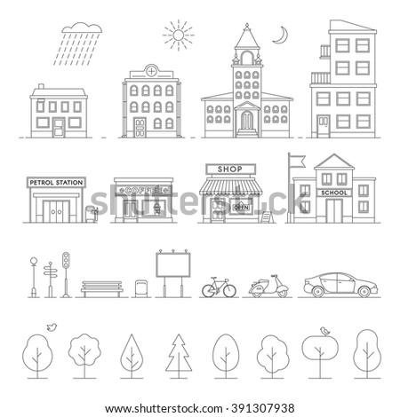 city landscape design elements