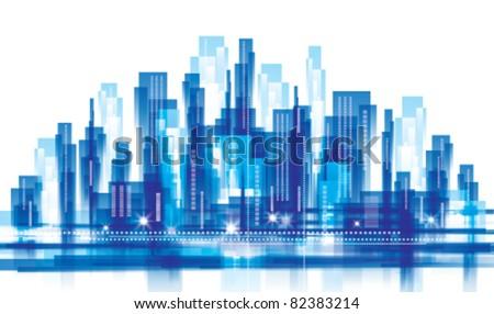 city landscape. vector...