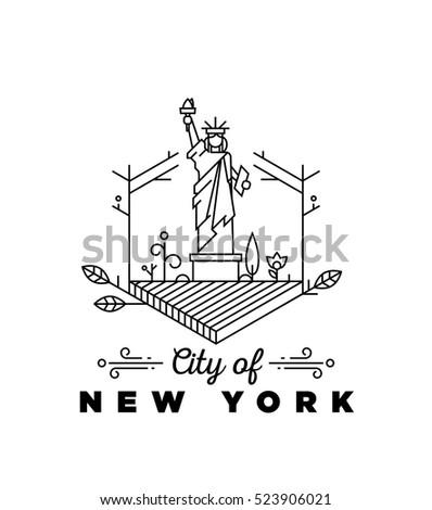 city of new york monogram