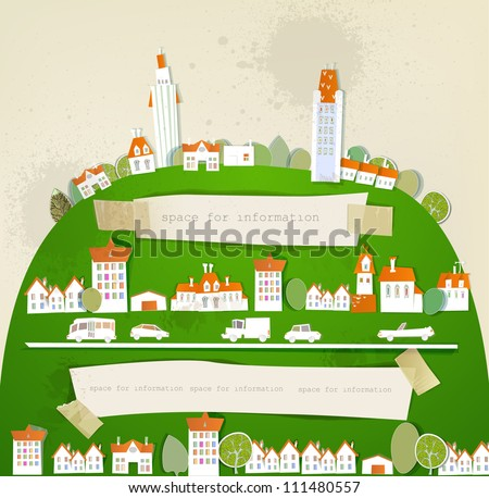 City on the green hill