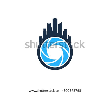 city photography logo design