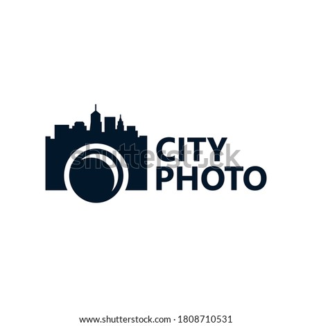 city photography logo template