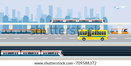 city  public transport and