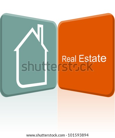 city real estate vector