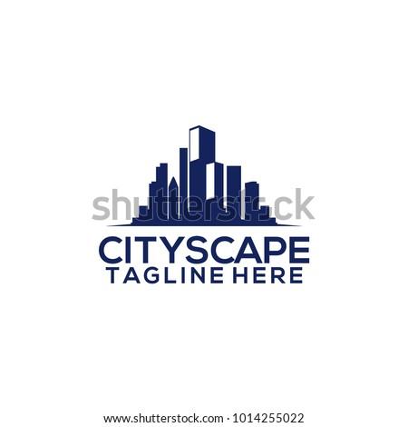 City scape logo