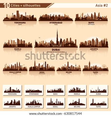 city skyline set asia number 2