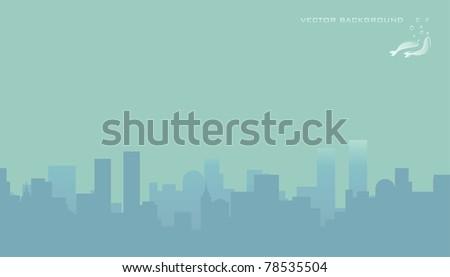 City skyline, vector illustration