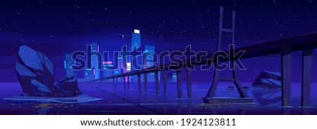 city skyline with buildings and
