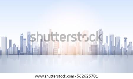 city skyscraper view cityscape