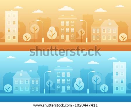 city street landscape