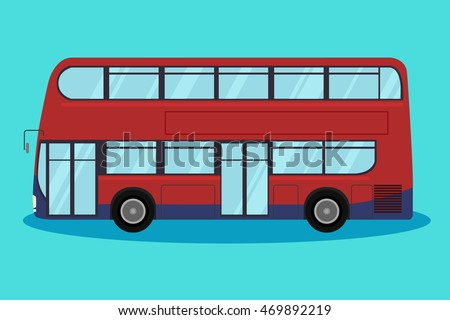 Free London Bus Vector Download Free Vector Art Stock Graphics