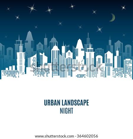 city urban design night