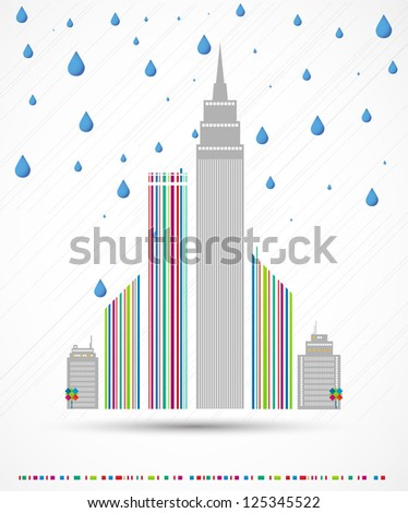 city weather vector