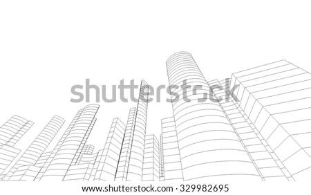 cityscape architectural