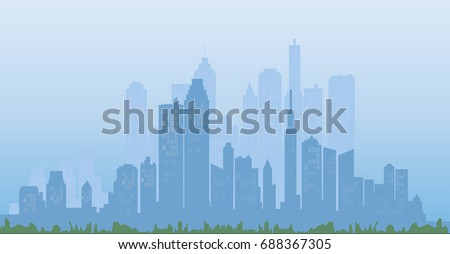 cityscape background buildings