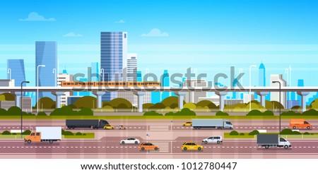 cityscape background modern