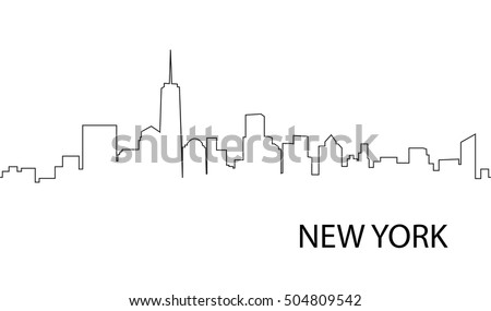 cityscape downtown new york