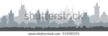 cityscape seamless background