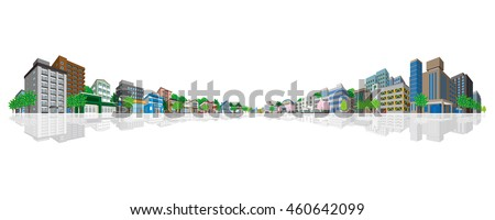 cityscape vector illustration