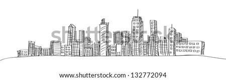 cityscape vector illustration...