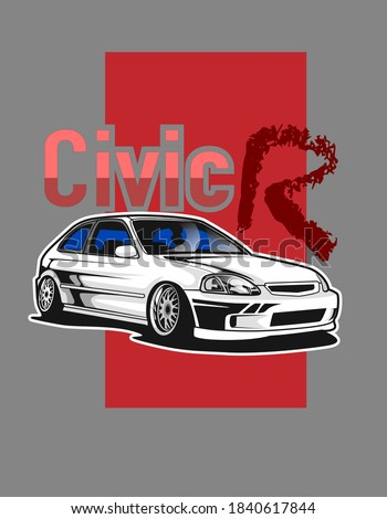 civic jdm style design for your