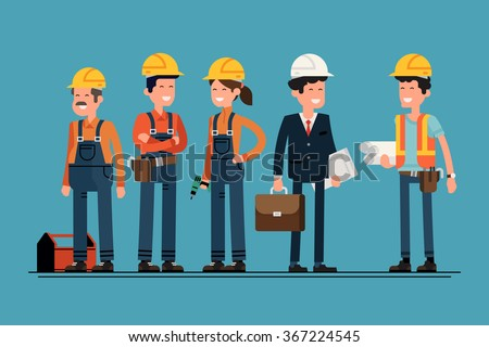 stock-vector-civil-engineer-architect-and-construction-workers-characters-group-cool-vector-flat-design-367224545.jpg