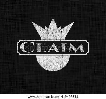 Claim on blackboard