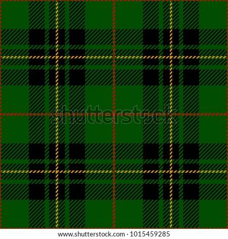 Clan Forbes Tartan Plaid Scottish Pattern