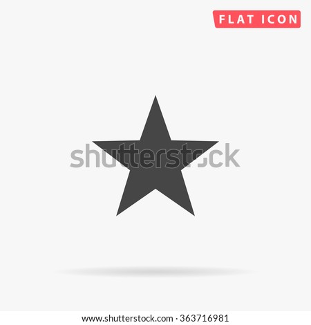 clasic star icon vector
