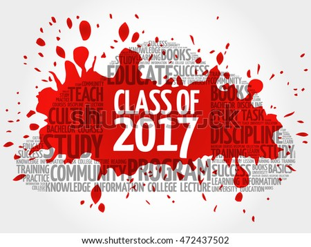 class of 2017 word cloud