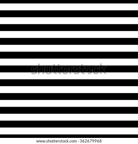 classic black and white stripes