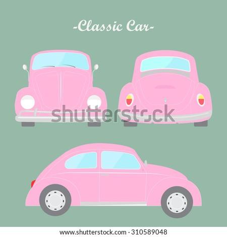 classic car vector