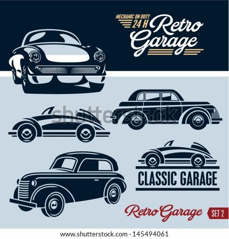 classic cars retro cars garage