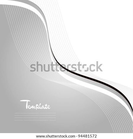 Classic cover design vector