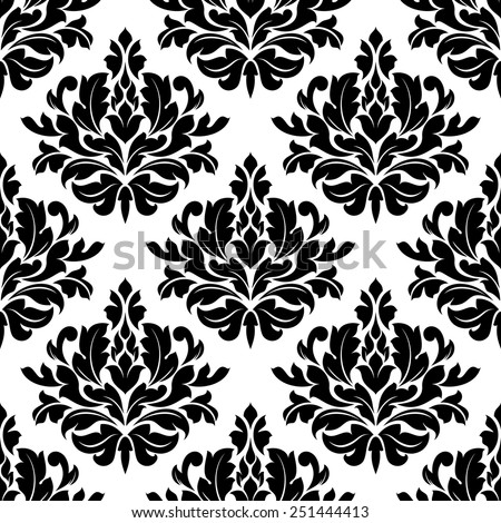 classic damask floral seamless