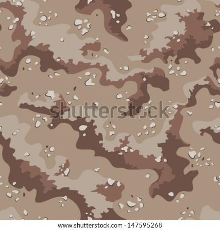 classic desert camo pattern