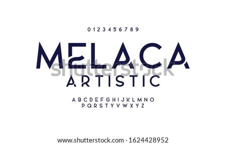 Classic elegant design font. Vector illustration of typography alphabet.