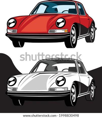 Classic European Sports Car 1