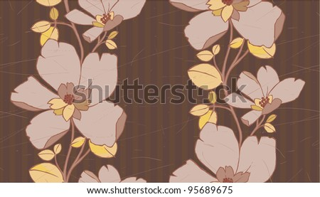 Classic flower seamless pattern good as wallpaper.