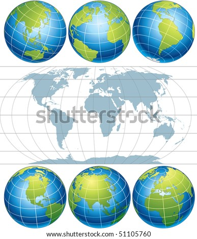 world map vector file. World Map -vector elements