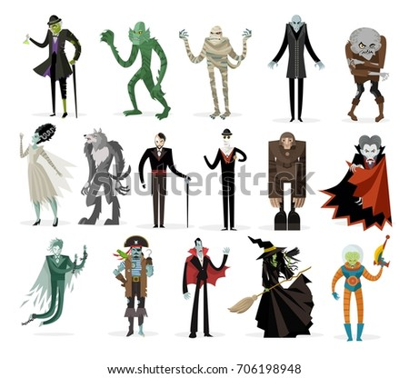 classic monsters creatures