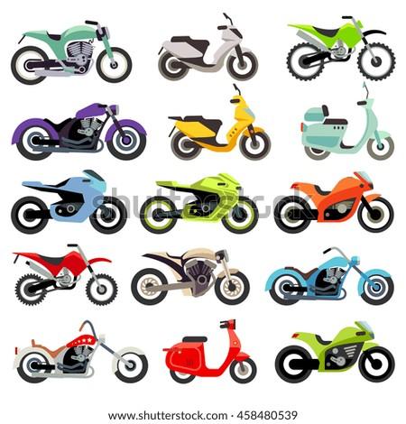 classic motorcycle motorbike