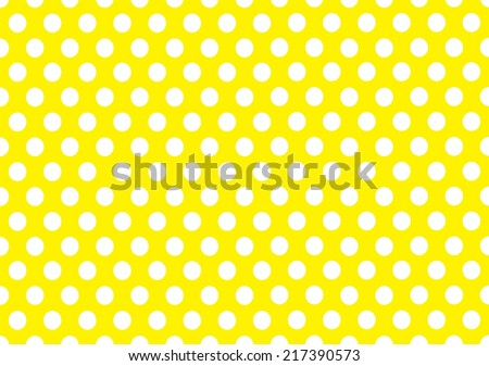classic polka dot background vector