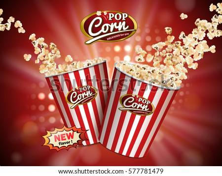 classic popcorn ads  delicious