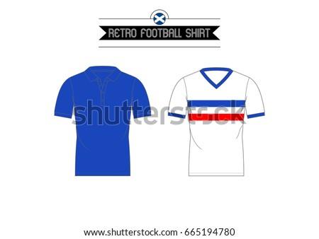 Classic Retro Football Shirt // Scottish Club
