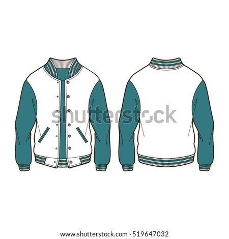 Royalty Free Stock Photos and Images: Classic Sport Varsity Jacket ...