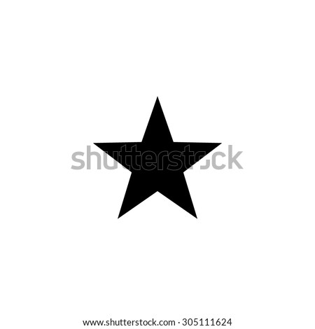 classic star black simple