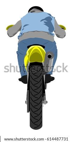 classic supermoto motorcycle